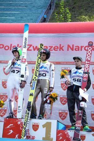 sCoC Wisła 2016 - Davide Bresadola, Domen Prevc, Jan Ziobro
