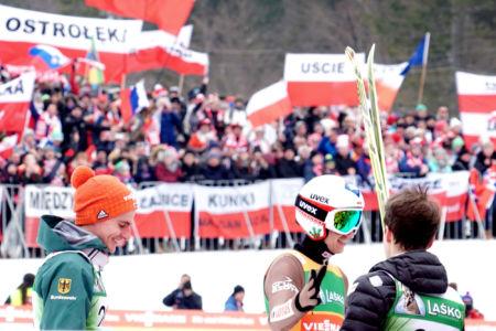 WC Planica 2018 - Richard Freitag, Kamil Stoch, Simon Ammann